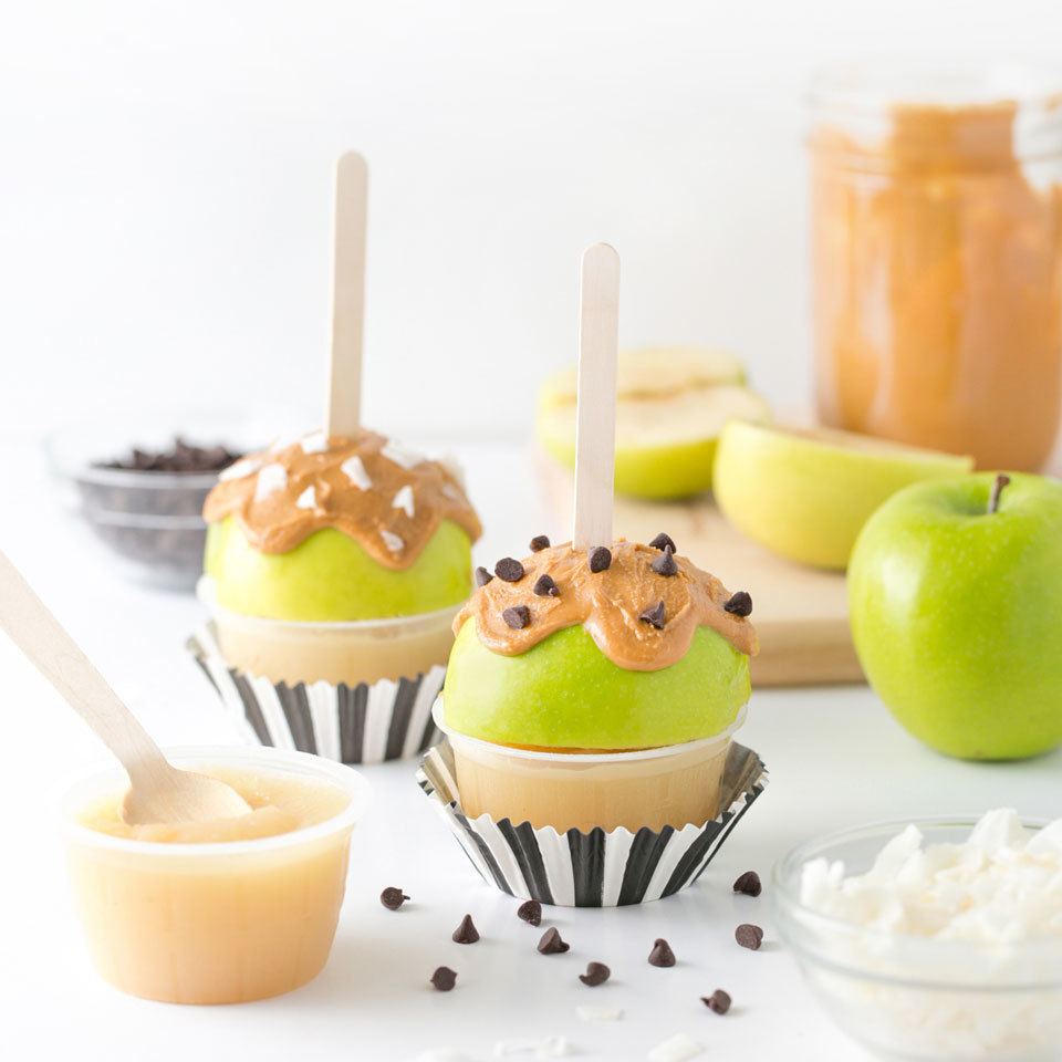 "Peanut Butter ""Candy"" Apples"