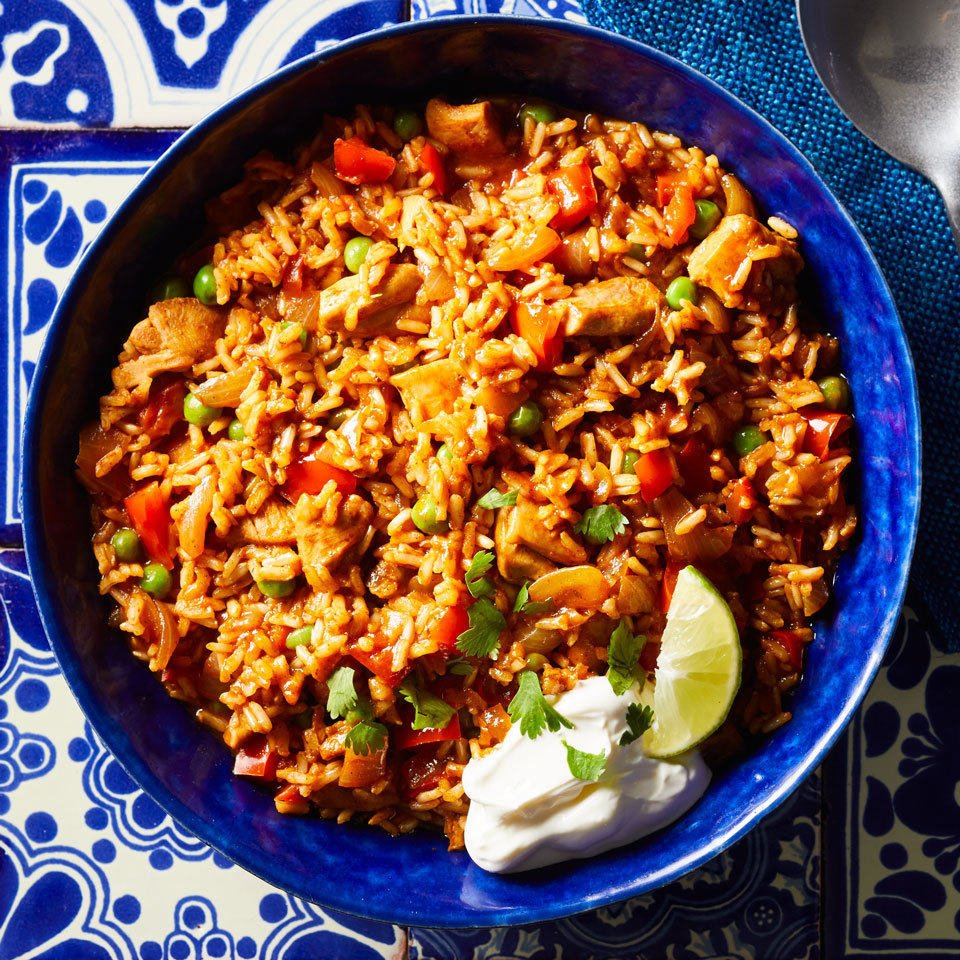 Pressure-Cooker Chicken & Rice (Arroz con Pollo)