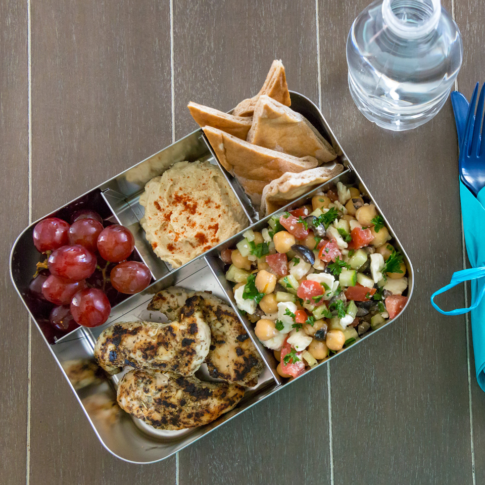 Mediterranean Bento Lunch