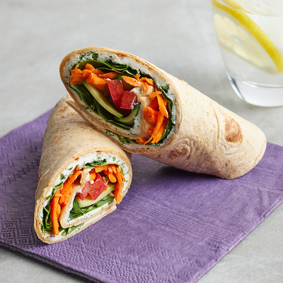 Cream Cheese & Veggie Roll-Up