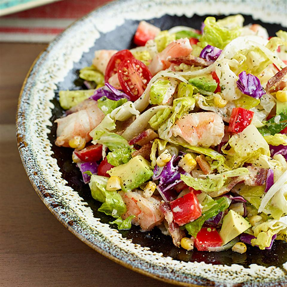 Avocado & Shrimp Chopped Salad