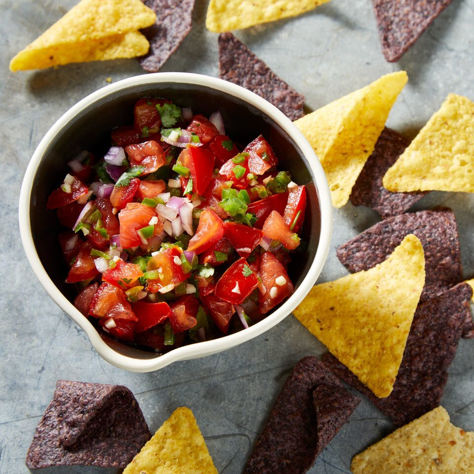 Tomato Salsa Recipe Eatingwell