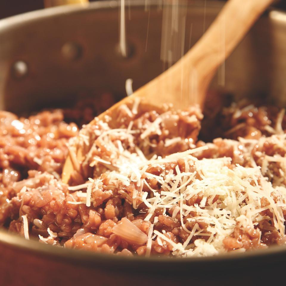 Red-Wine Risotto