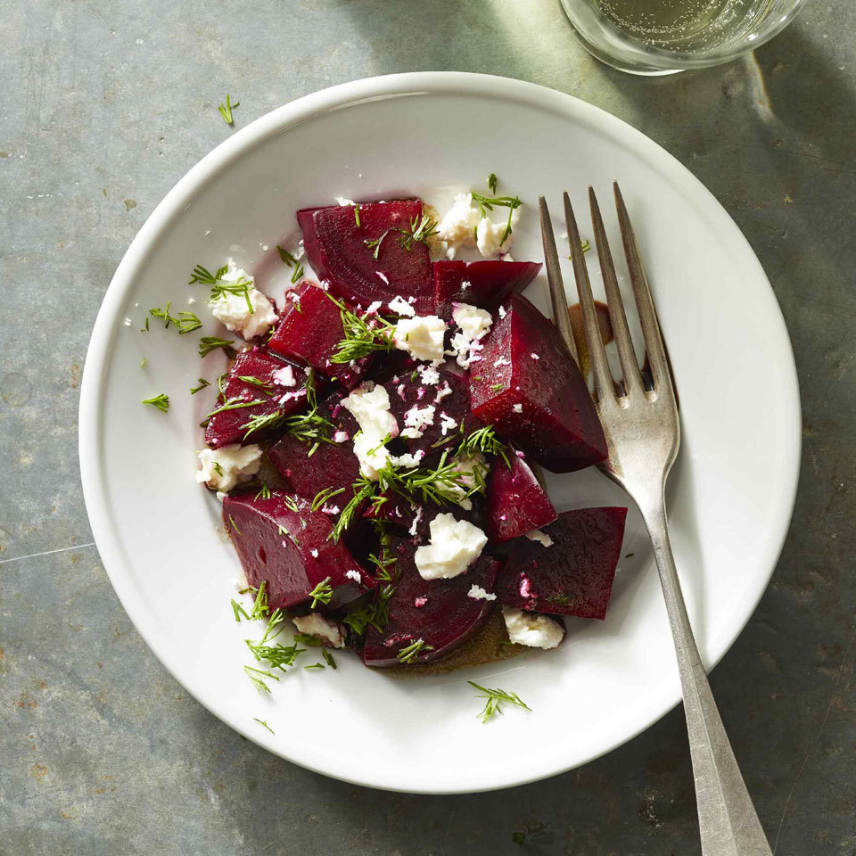 Beet Salad with Feta & Dill