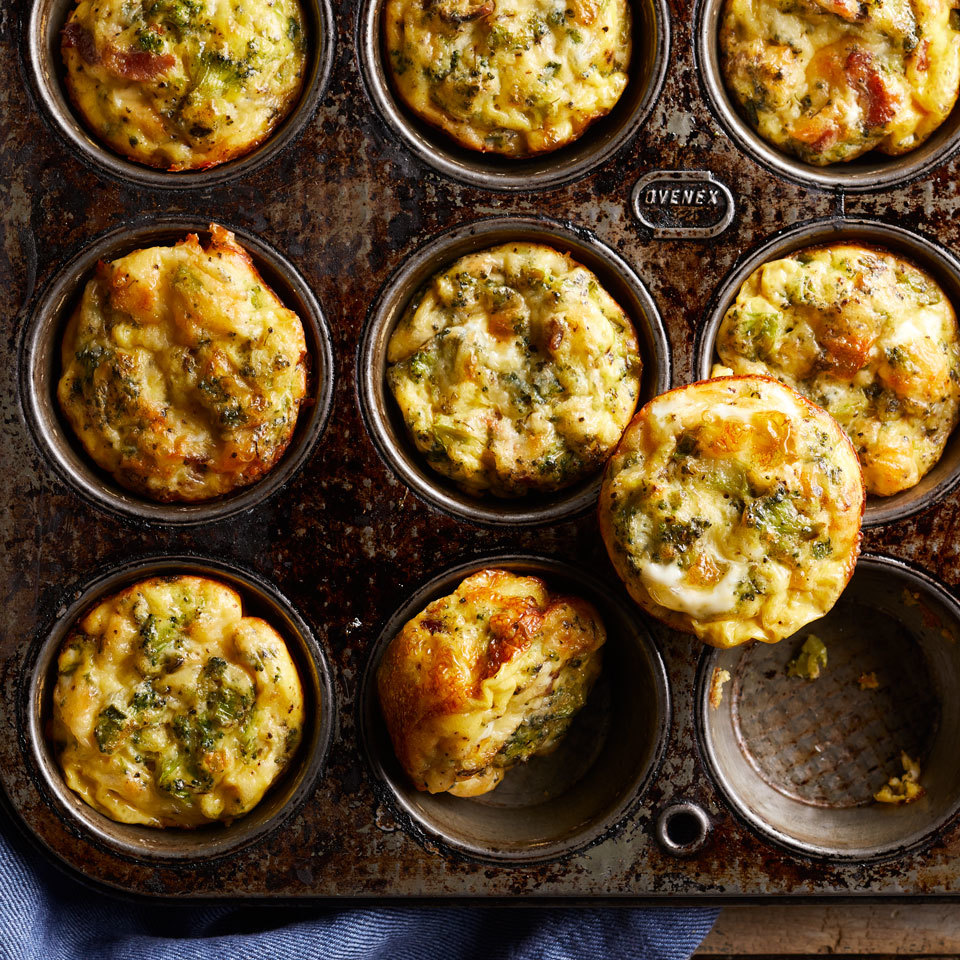 Easy Loaded Baked Omelet Muffins