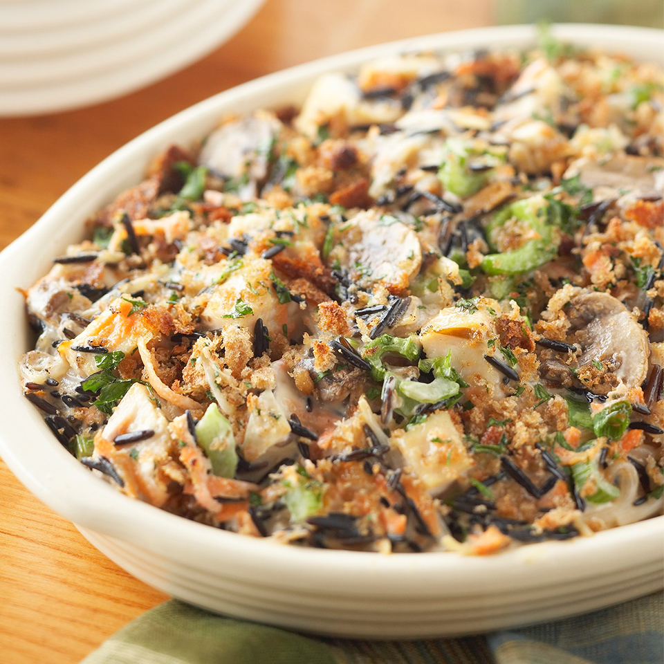 Chicken and Wild Rice Casserole