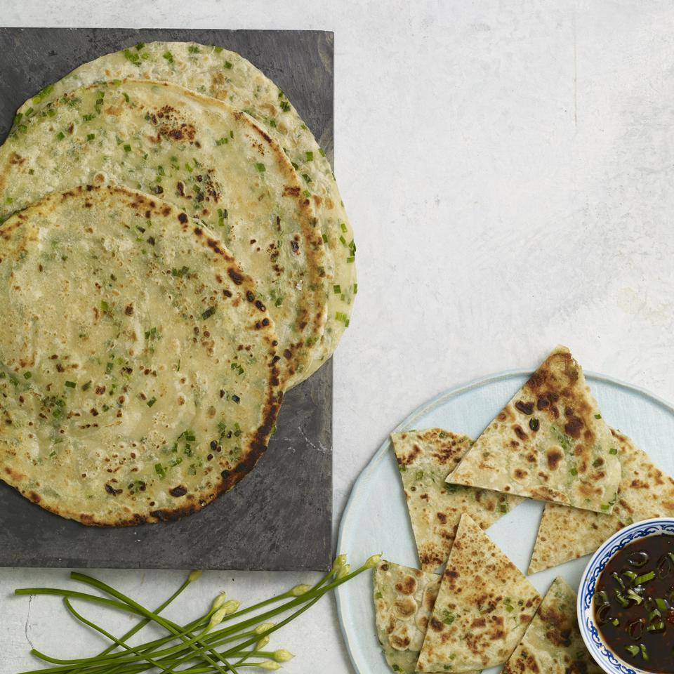 Chinese Chive Pancakes