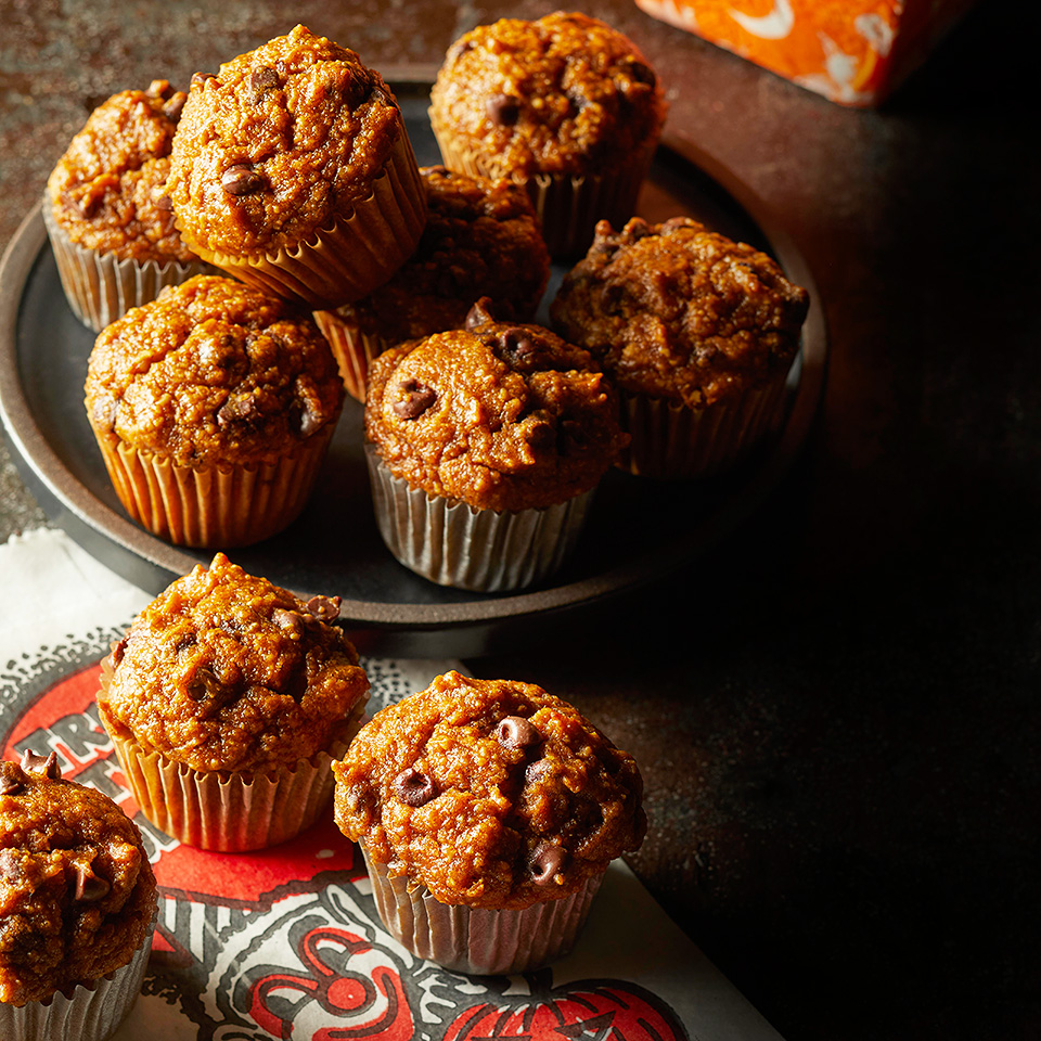 Pumpkin-Oat Mini Muffins