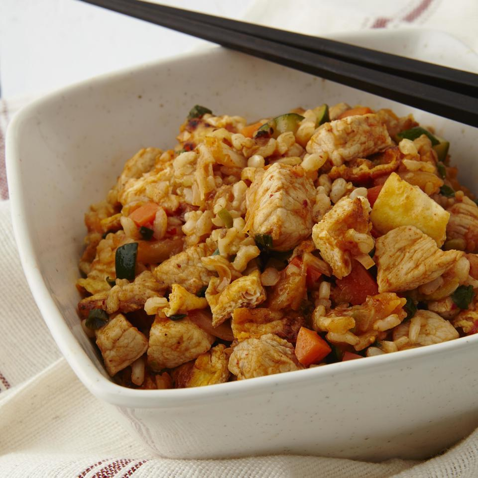 Korean Pork & Kimchi Fried Rice