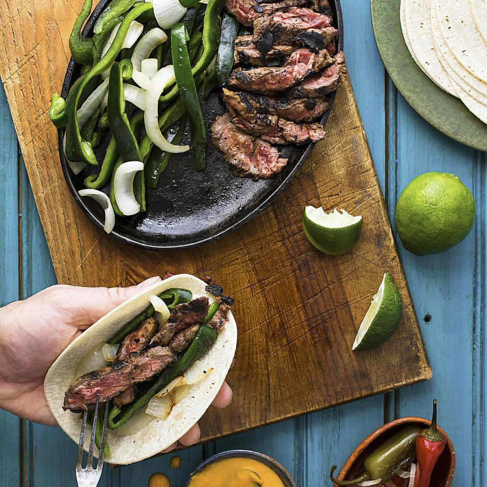South Texas Steak Fajitas