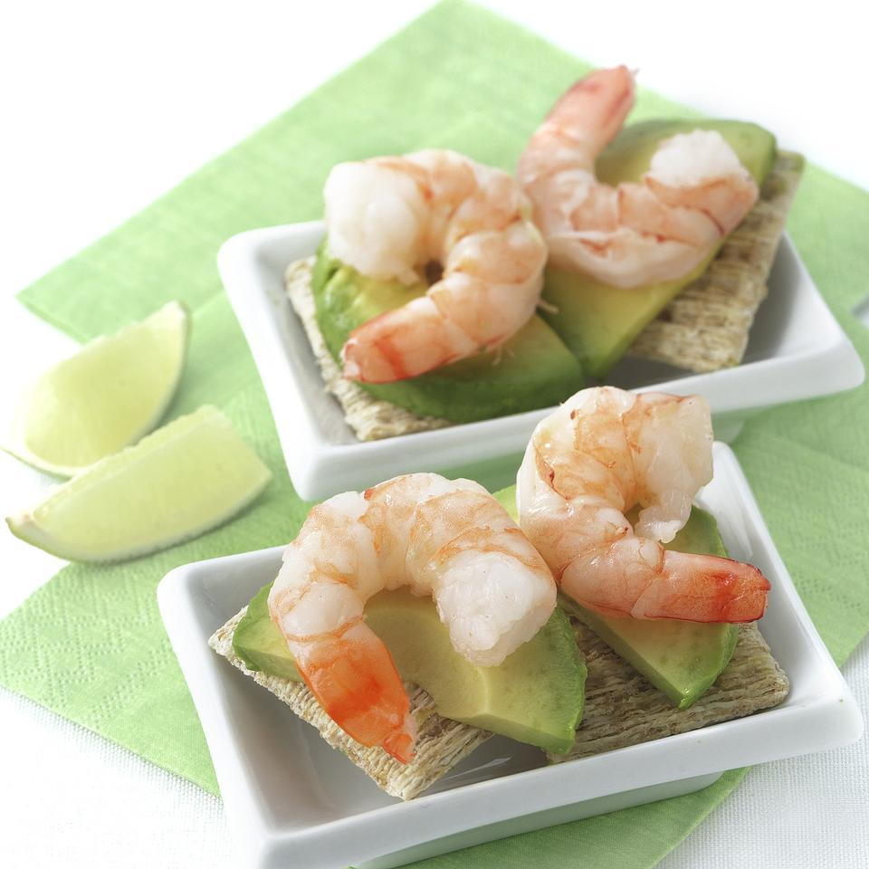 Shrimp & Avocado Canapes