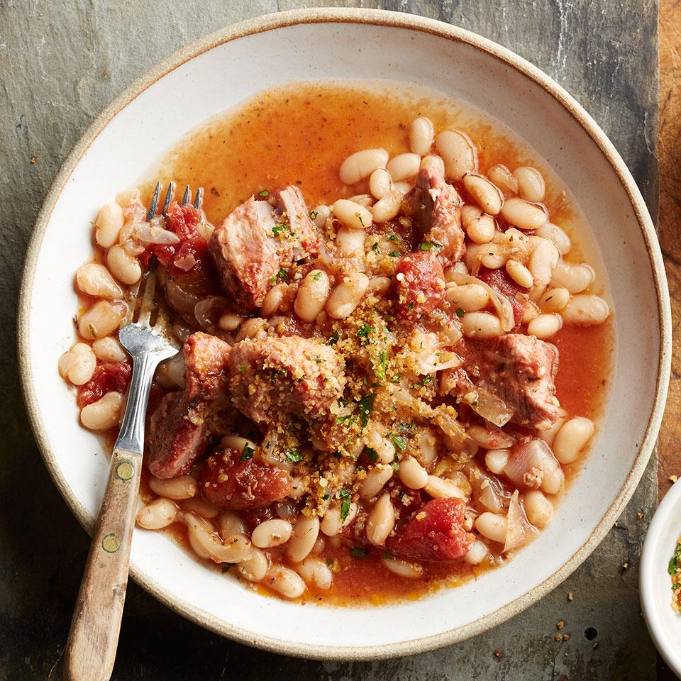 Slow-Cooker Cassoulet