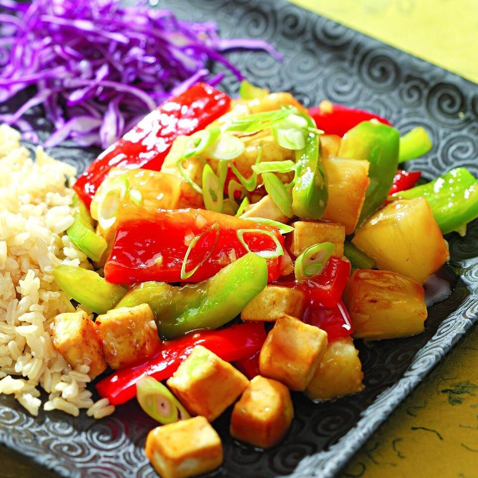 Pineapple Tofu Stir Fry Recipe Eatingwell