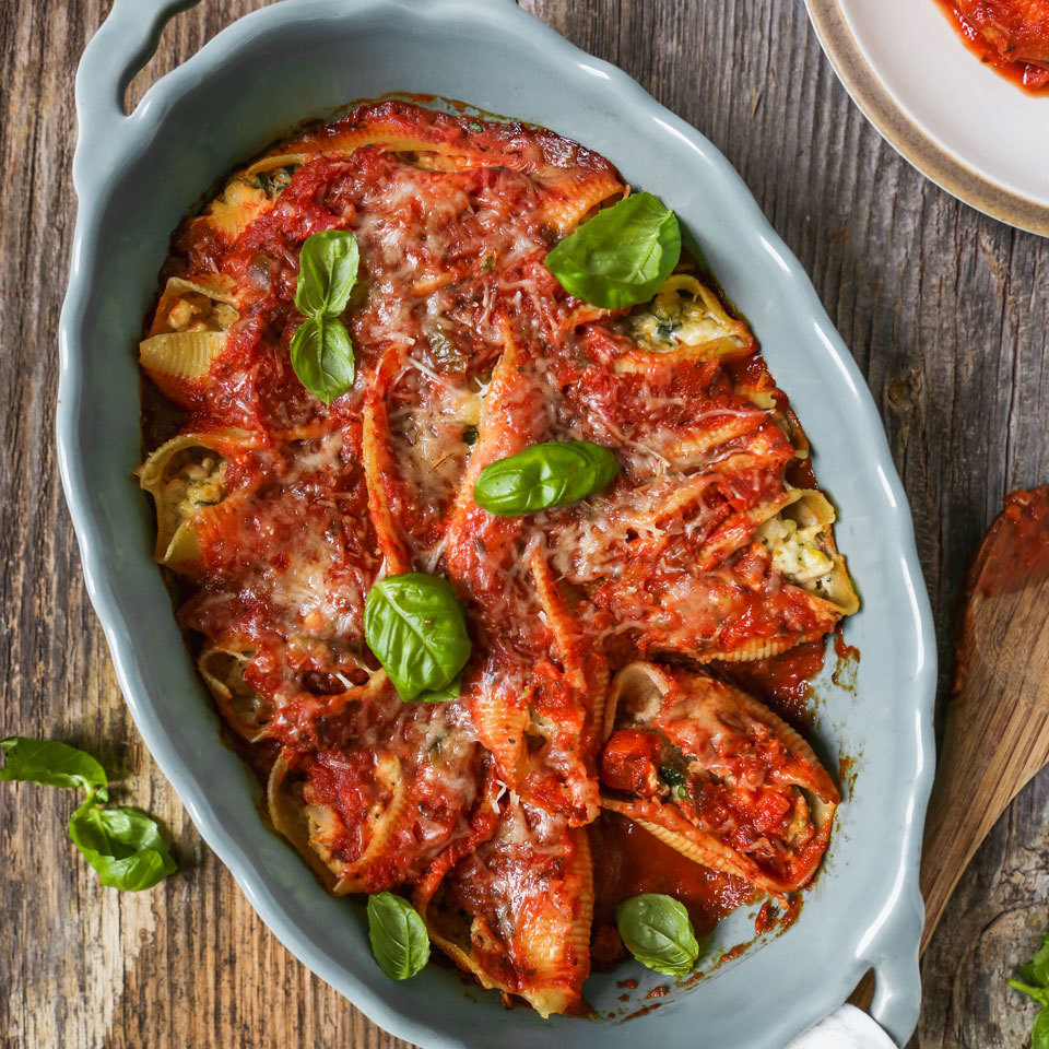 Turkey & Ricotta Stuffed Shells