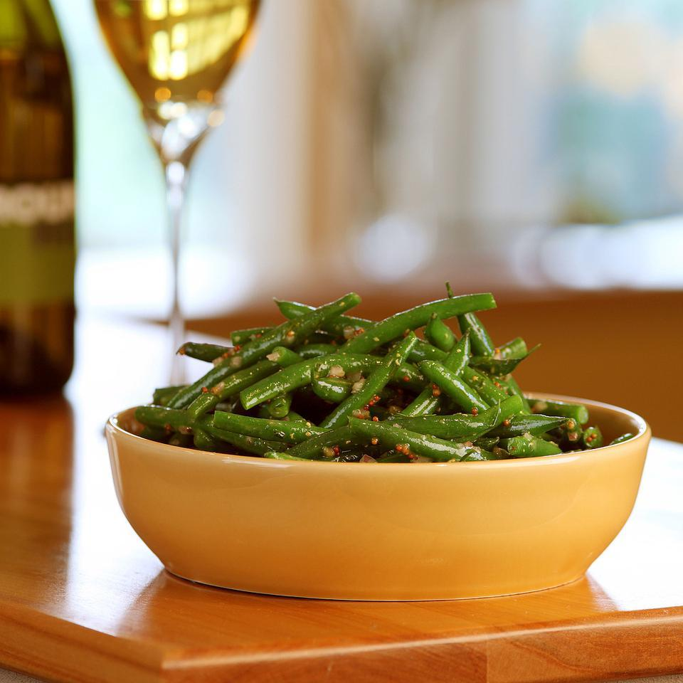 lemon dill green beans