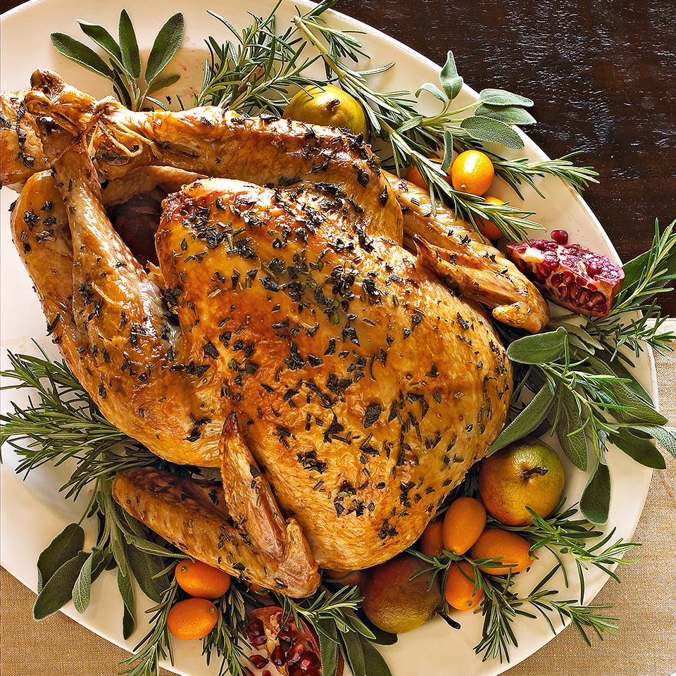 Traditional Herbed Roast Turkey
