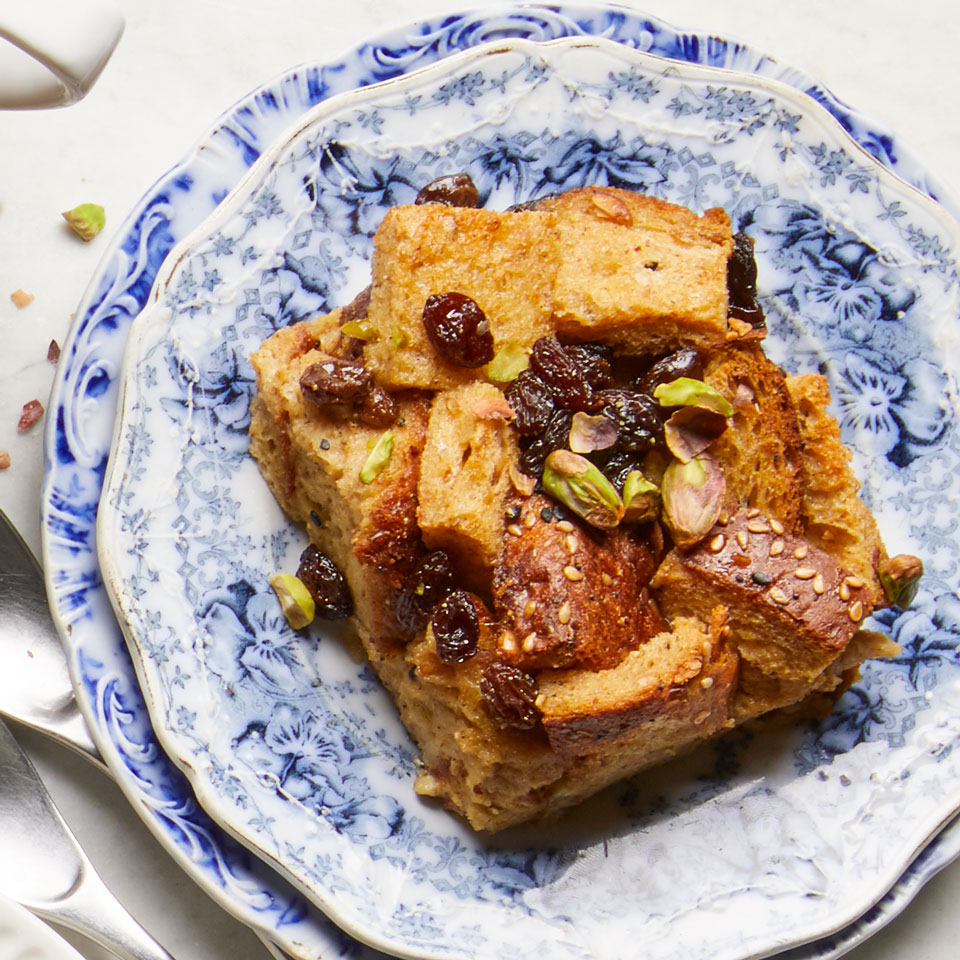 Raisin-Cardamom Overnight French Toast