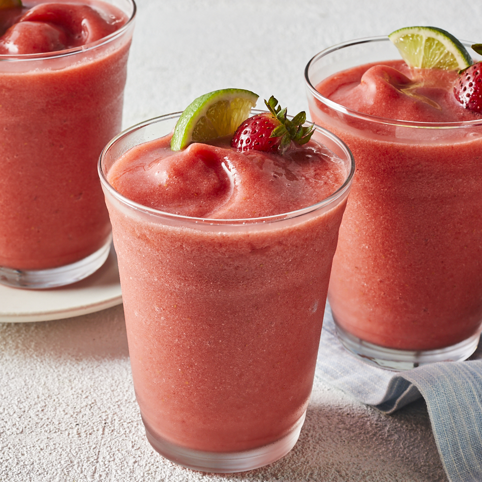 Nonalcoholic Strawberry Margaritas