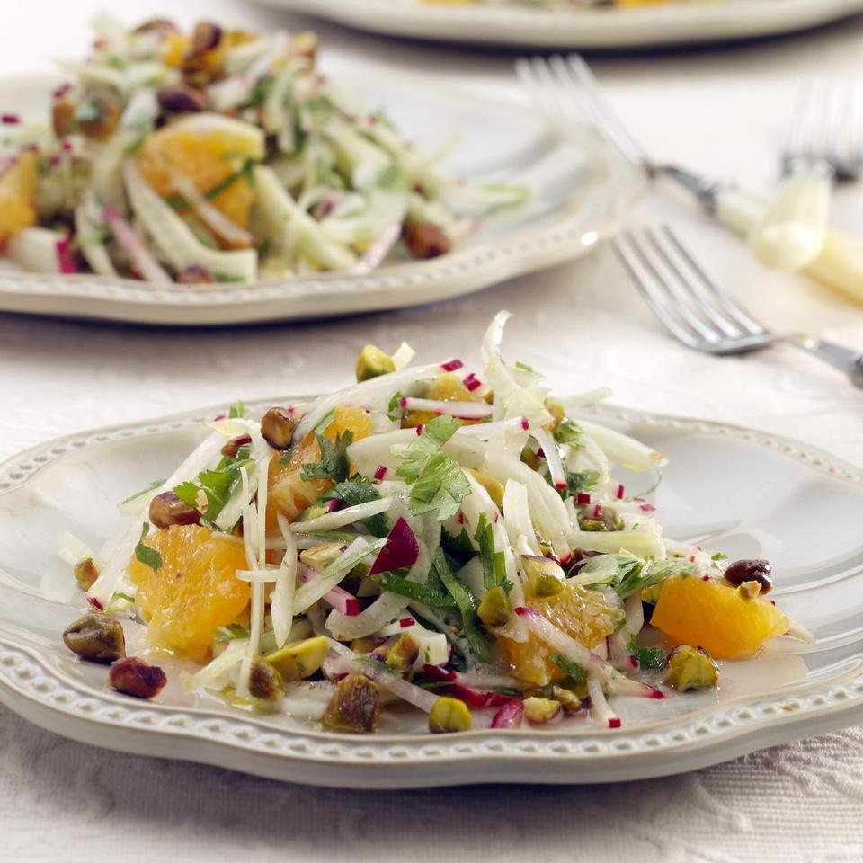 Fennel & Orange Salad with Toasted Pistachios