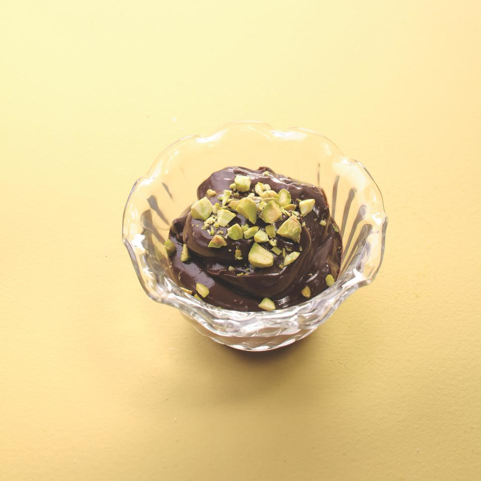 Pistachio Chocolate Pudding