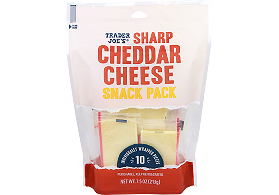 sharp cheddar cheese individual size snacks