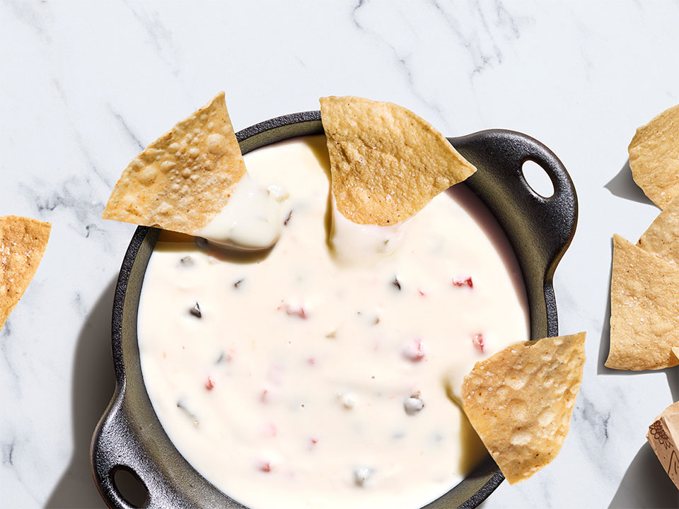 Chipotle new queso blanco