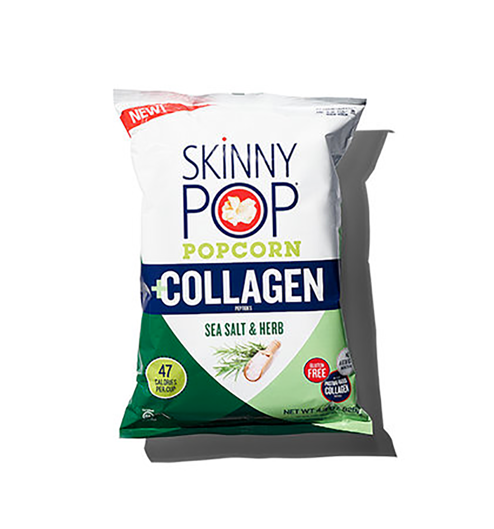 bag of SkinnyPop Popcorn