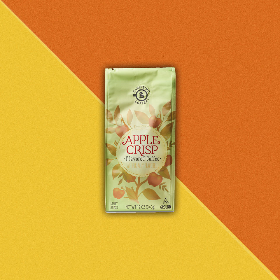 bag of Barissimo Apple Crisp Flavored Coffee