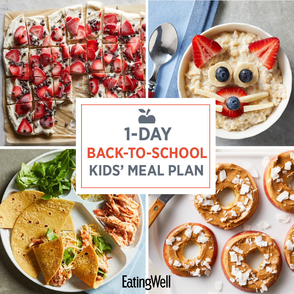 1-Day Back-to-School Kids' Meal Plan
