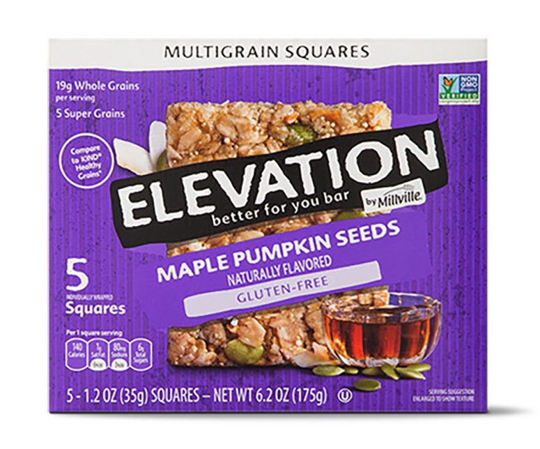Elevation by Millville Maple Pumpkin Seed Bar