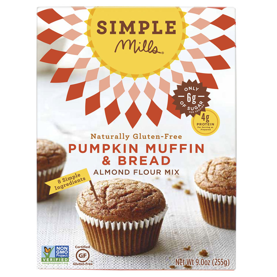 Simple Mills Almond Flour Pumpkin Muffin and Bread Mix