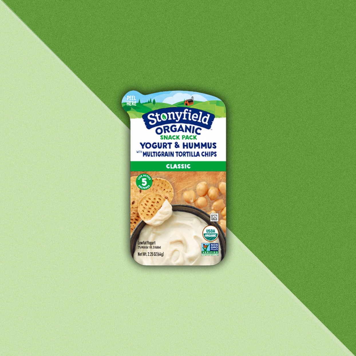 Stonyfield Organic Snack Packs