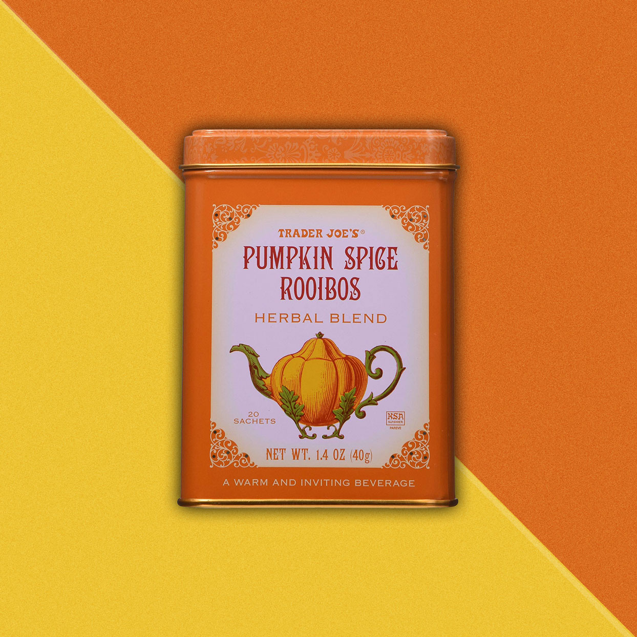Pumpkin flavored tea