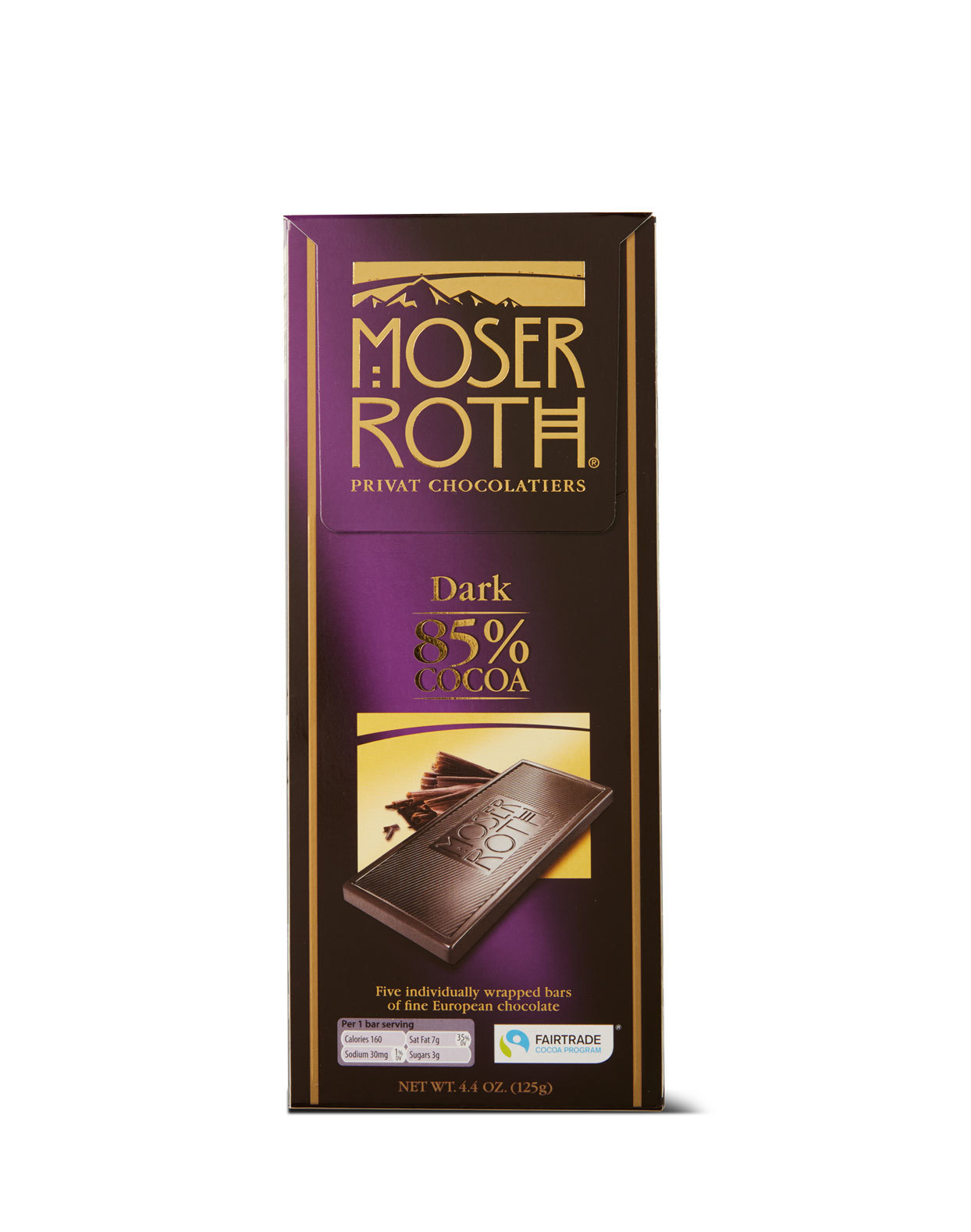 Moser Roth Dark Chocolate Bar