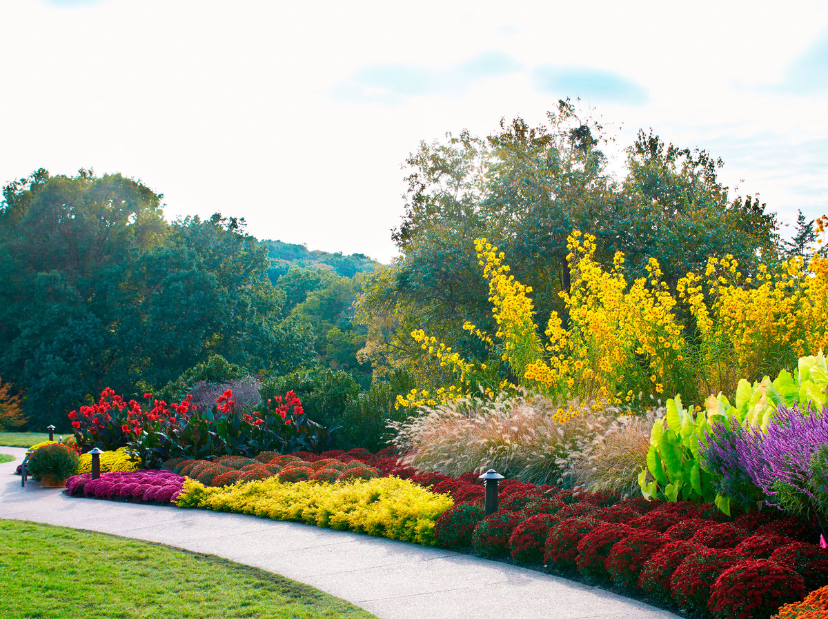 View of Cheekwood gardens