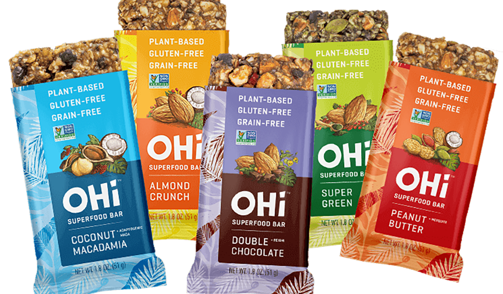 Selection of OHi bars
