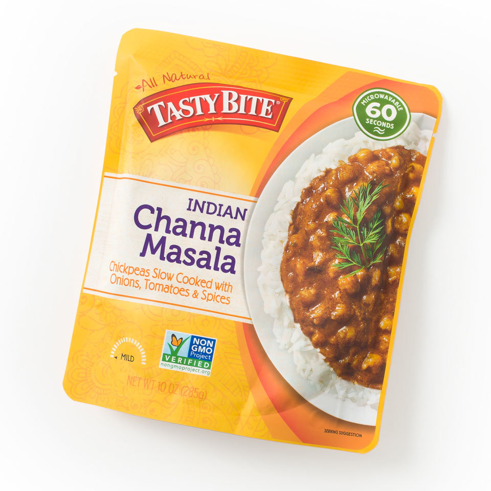 package of tasty bite channa Masala