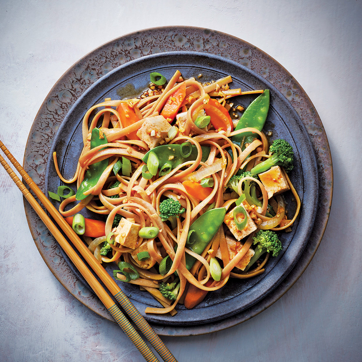 Slow-Cooker Tofu Lo Mein