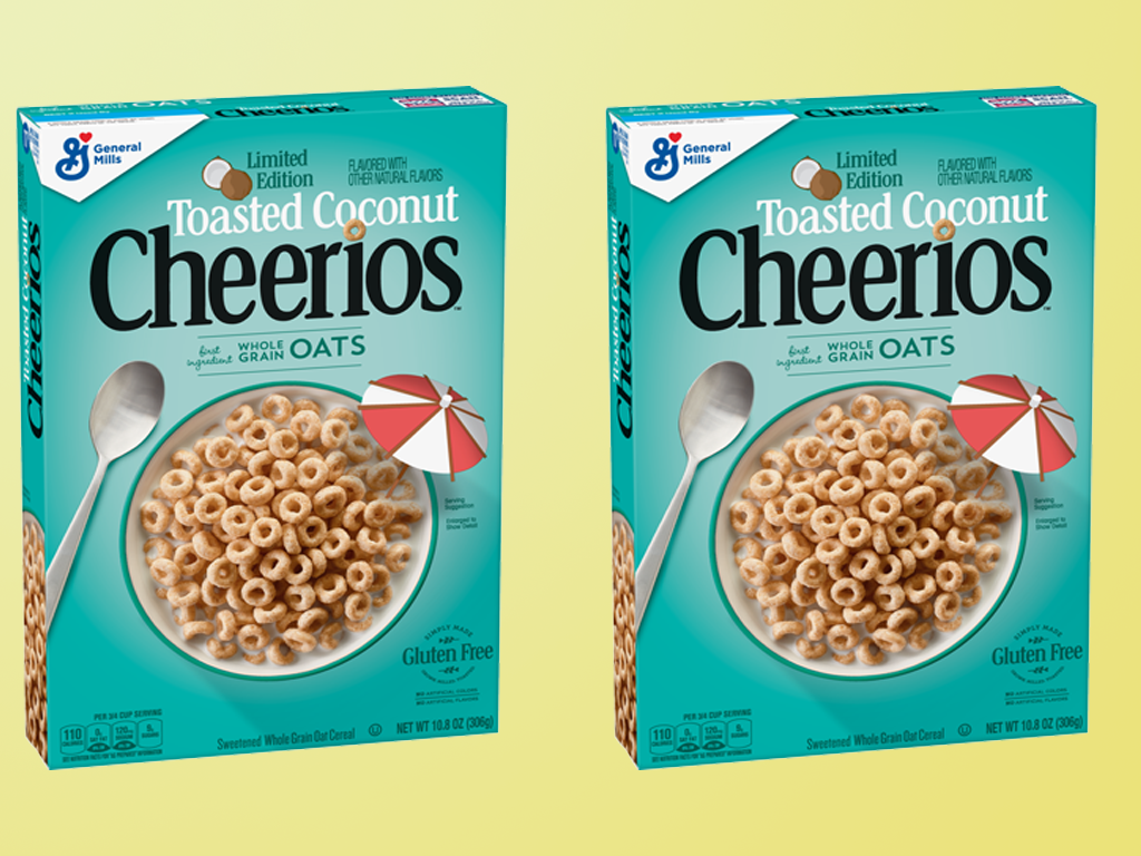 2 boxes of Toasted Coconut Cheerios