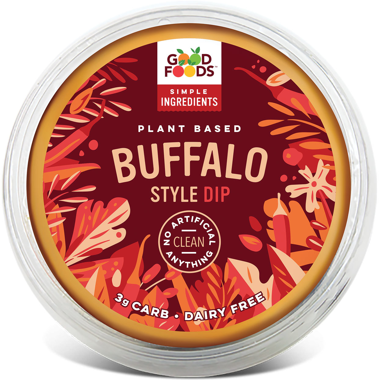 Plant-based Buffalo Dip