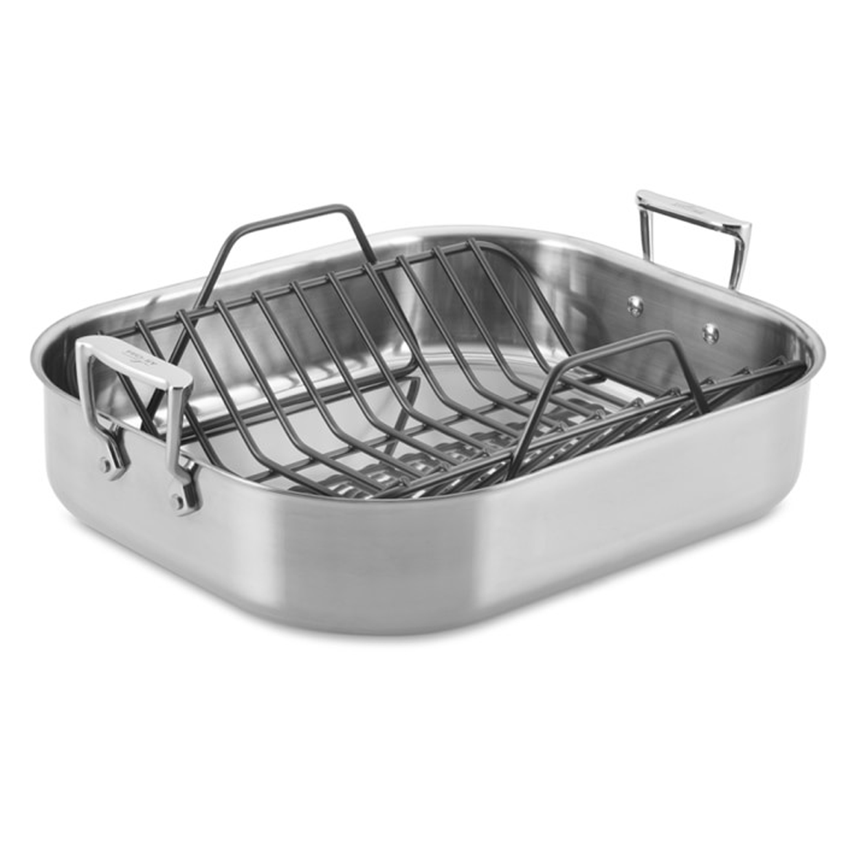 All-Clad Stainless-Steel Roasting Pan with Rack