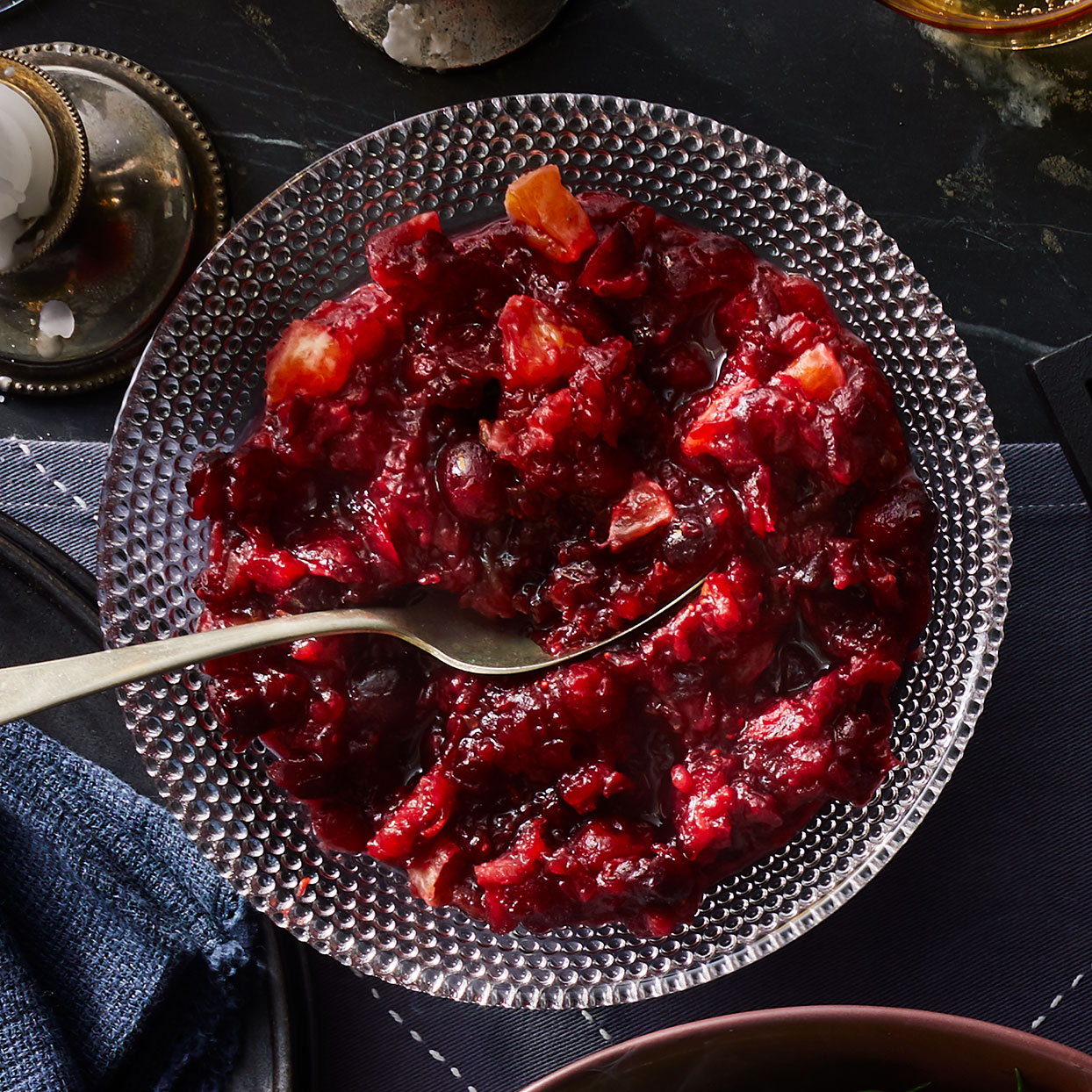 Clementine, Date & Port Cranberry Relish