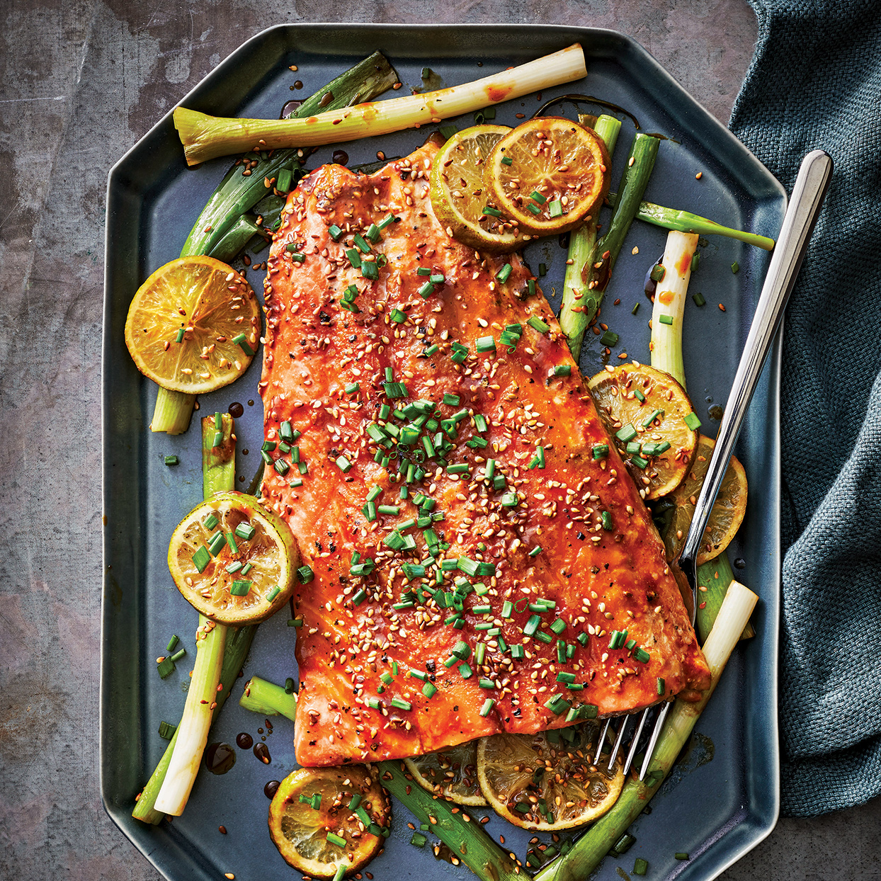 Slow-Cooker Miso-Black Pepper Salmon