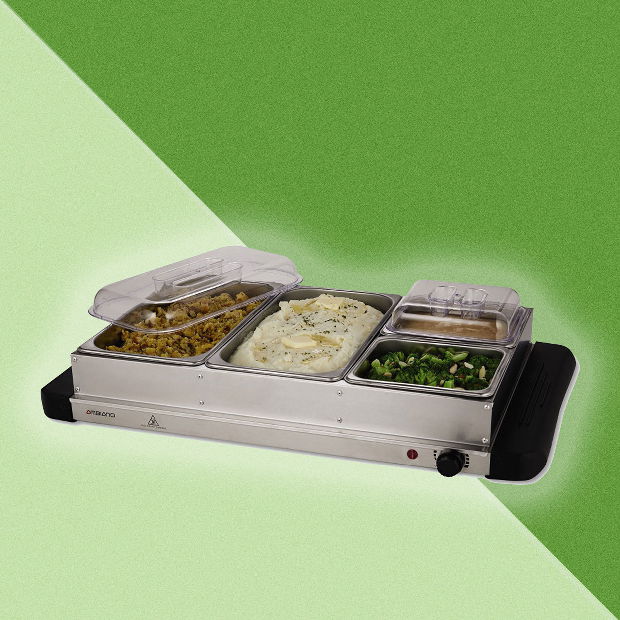 Warming Chafing Dish for Thanksgiving at Aldi