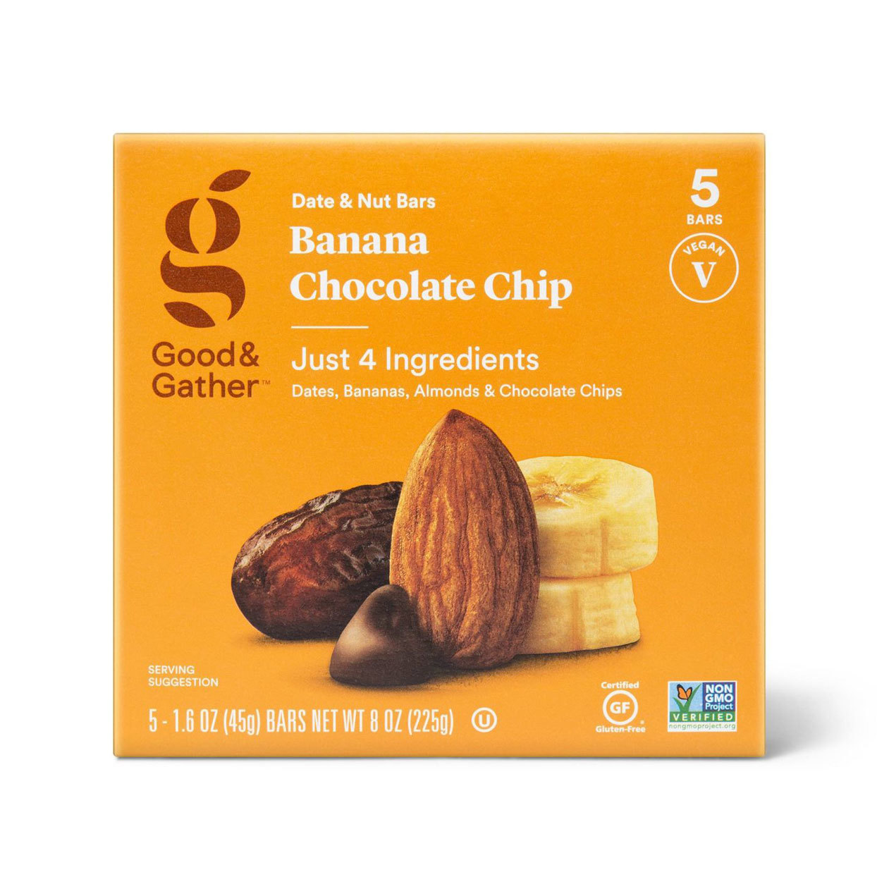 Box of Target Banana Chocolate Chip bars
