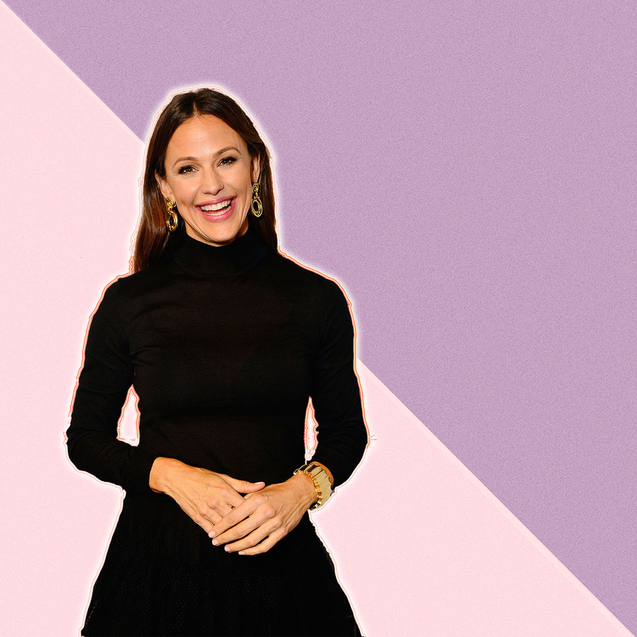 Jennifer Garner smiling