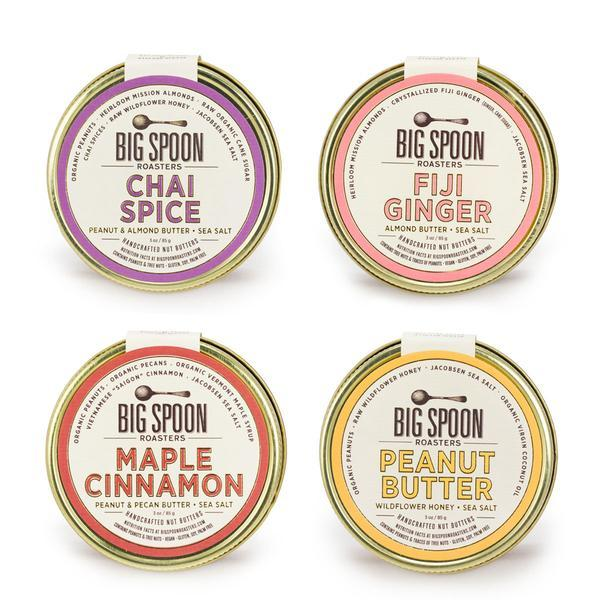 Big Spoon Roasters - various flavors of nut butter