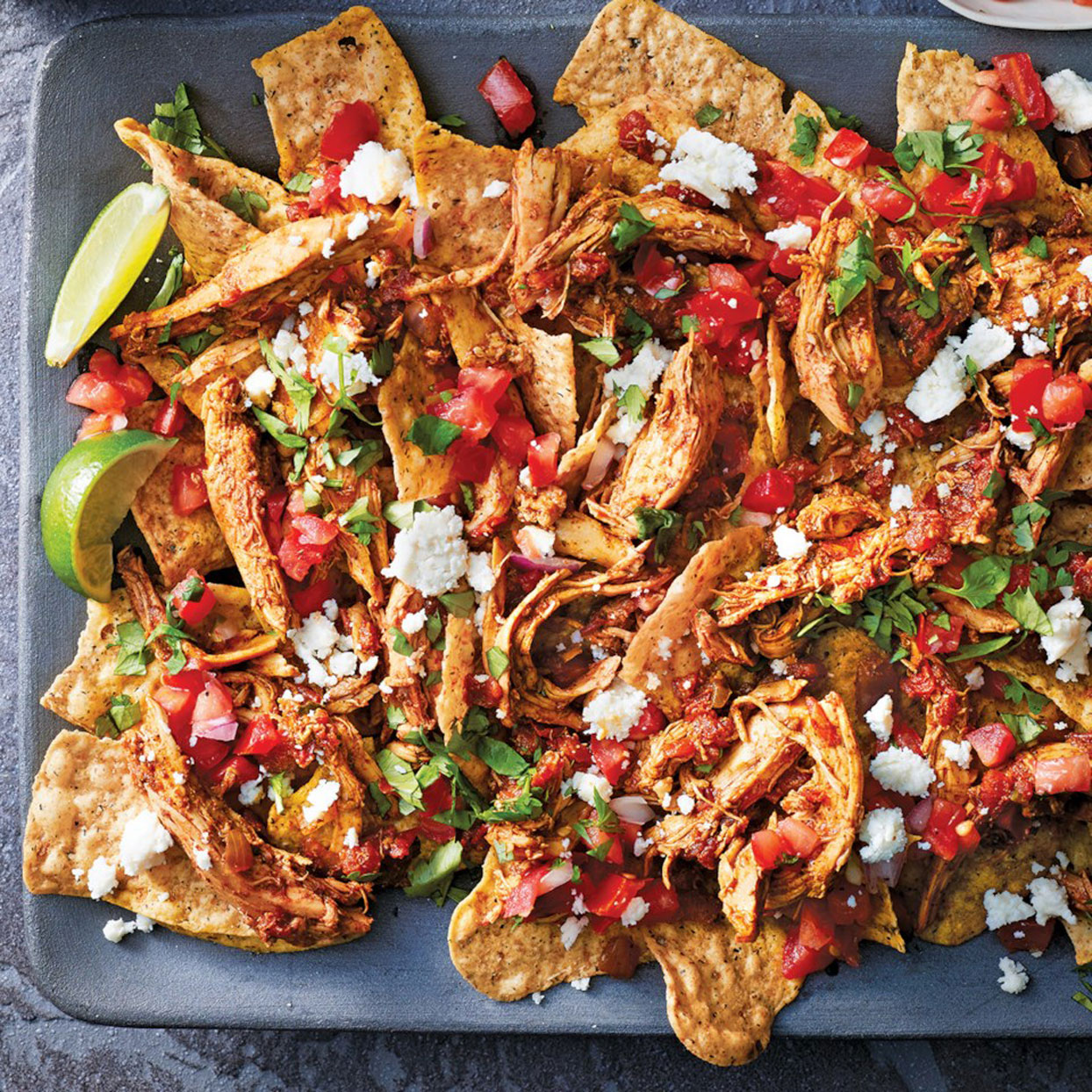Slow-Cooker Turkey Nachos