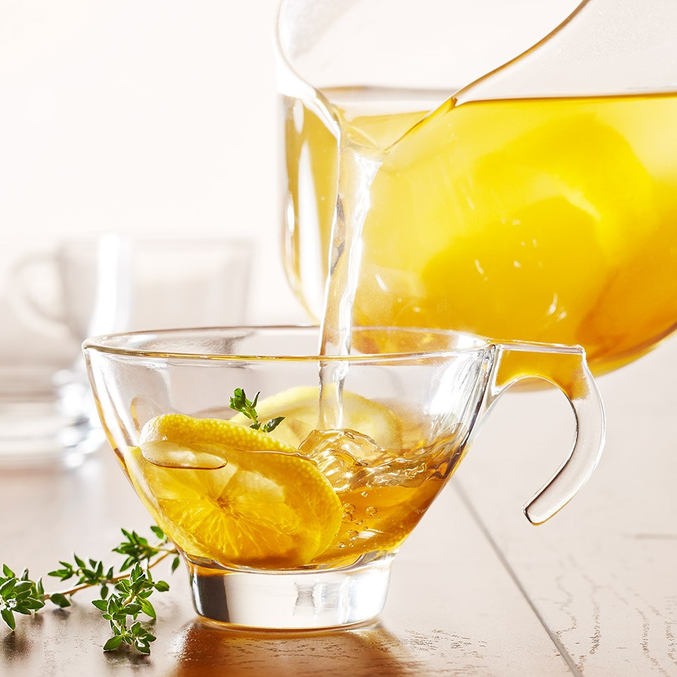 Soothing Ginger-Lemon Tea