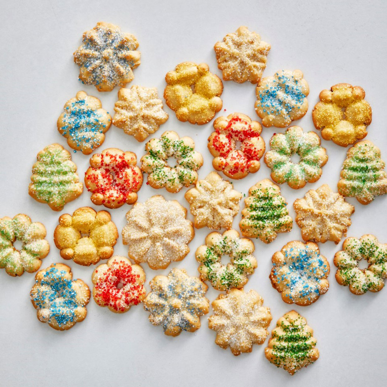 Spritz-Cookies-with-Sprinkles